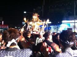 長岡祭り前夜祭「神輿渡御」