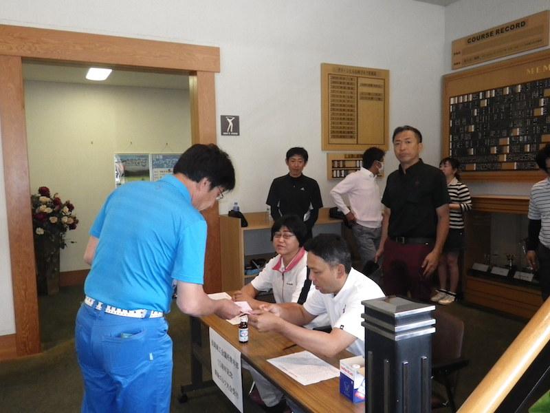 長岡商工会議所青年部15周年記念新緑ゴルフ大会1