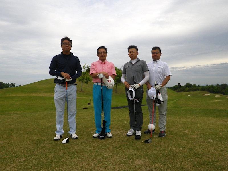 長岡商工会議所青年部15周年記念新緑ゴルフ大会2