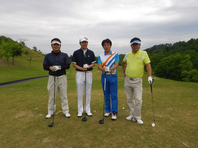 長岡商工会議所青年部15周年記念新緑ゴルフ大会5