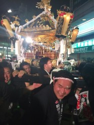 長岡YEG 長岡祭前夜祭神輿渡御