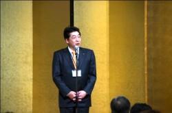 平成25年度会長 石田章氏(新日工業㈱代表取締役)挨拶