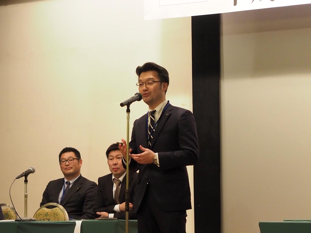 平成29年度 長岡商工会青年部 臨時総会・新年祝賀会2