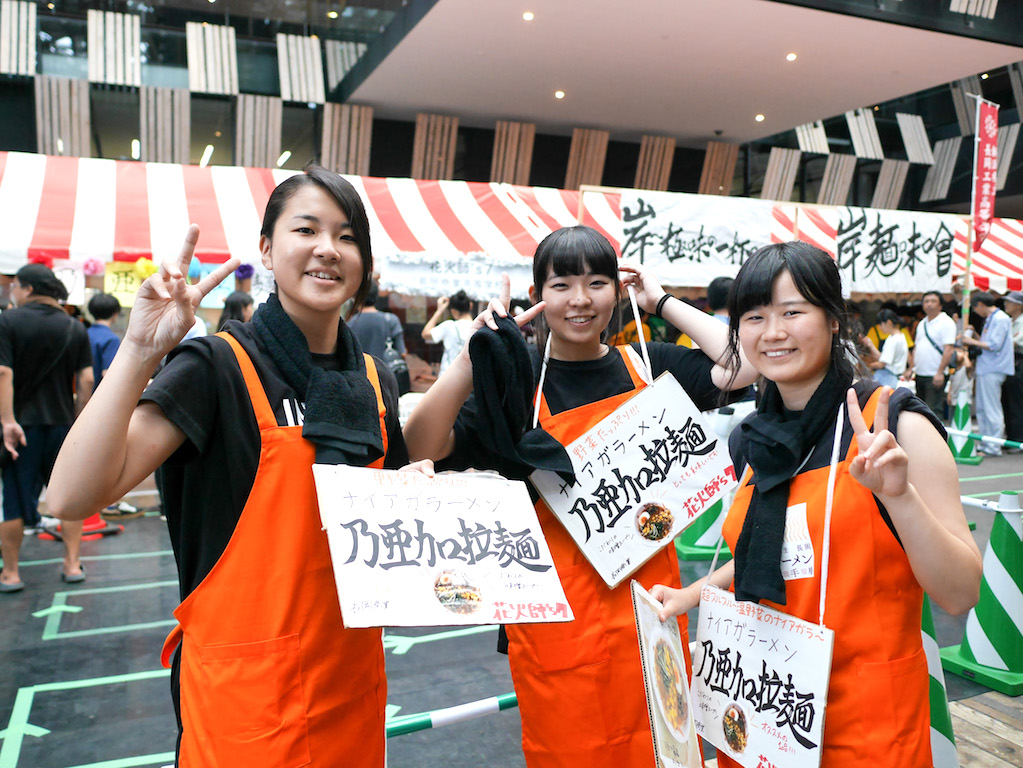 2016年度 第6回長岡高校生ラーメン選手権大会