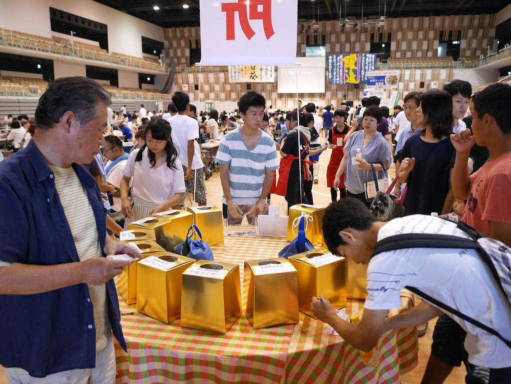 2016年度 第6回長岡高校生ラーメン選手権大会  参加者投票