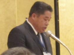 次期会長予定者 ㈱長岡乳配 代表取締役 戸川則夫氏